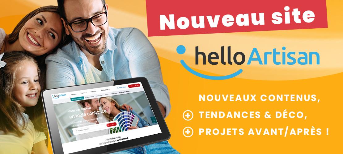 helloArtisan lance son nouveau site pour des travaux en toute sérénité