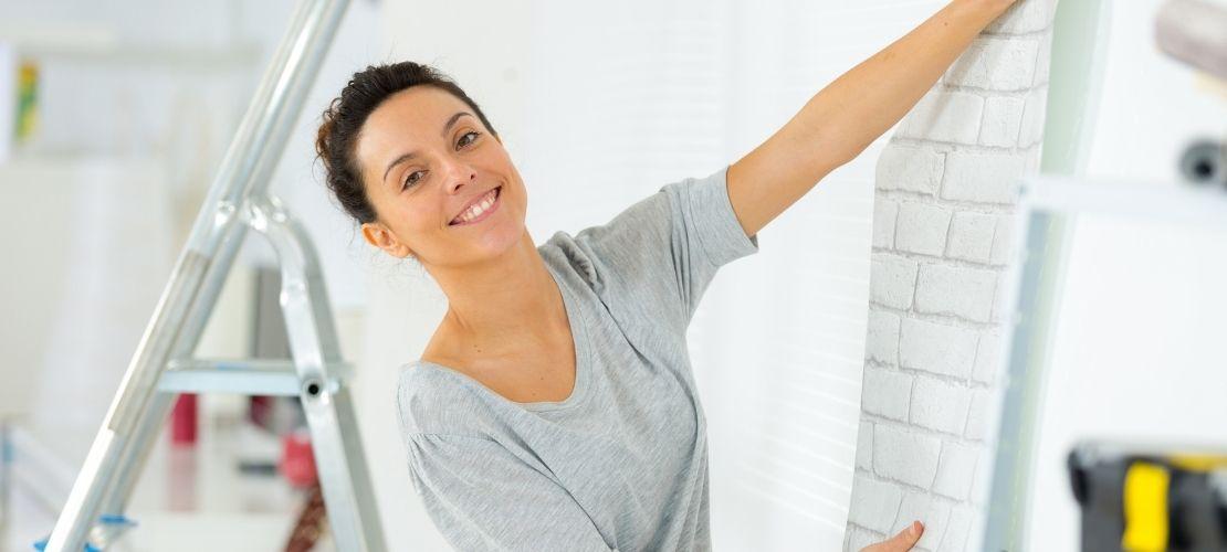 Pose papier peint: à faire, à ne pas faire