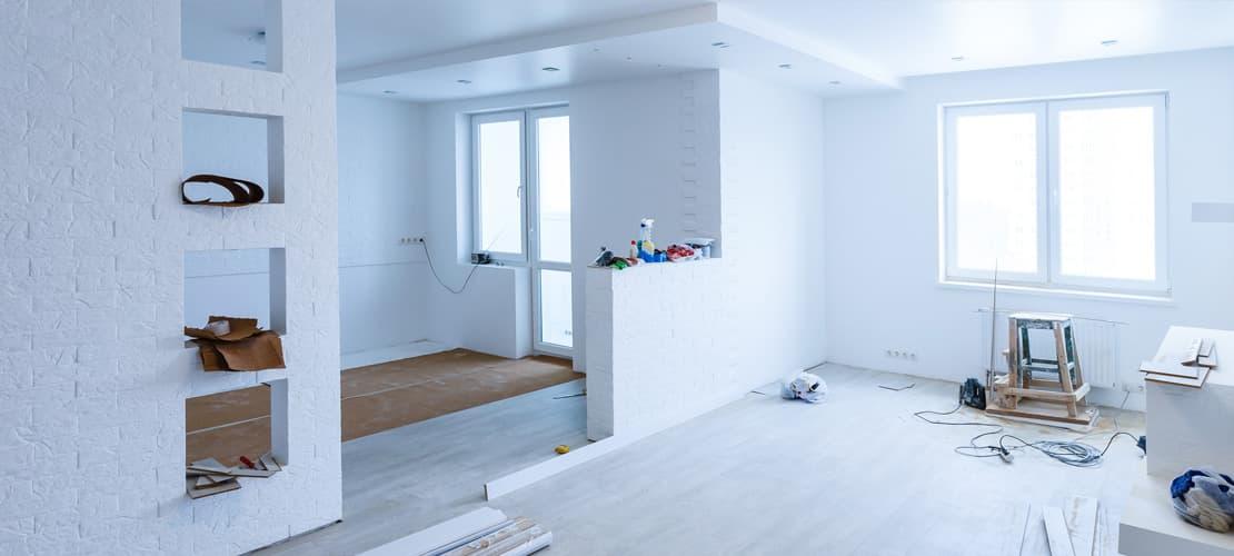 Garantie travaux d'aménagement et de rénovation d'intérieur