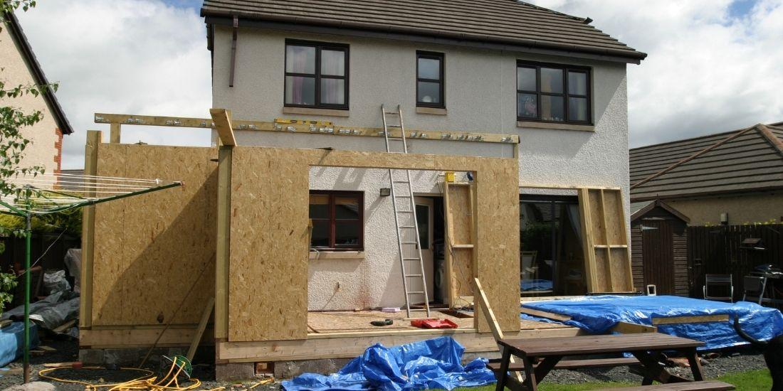 Evaluer la durée des travaux d'extension de maison