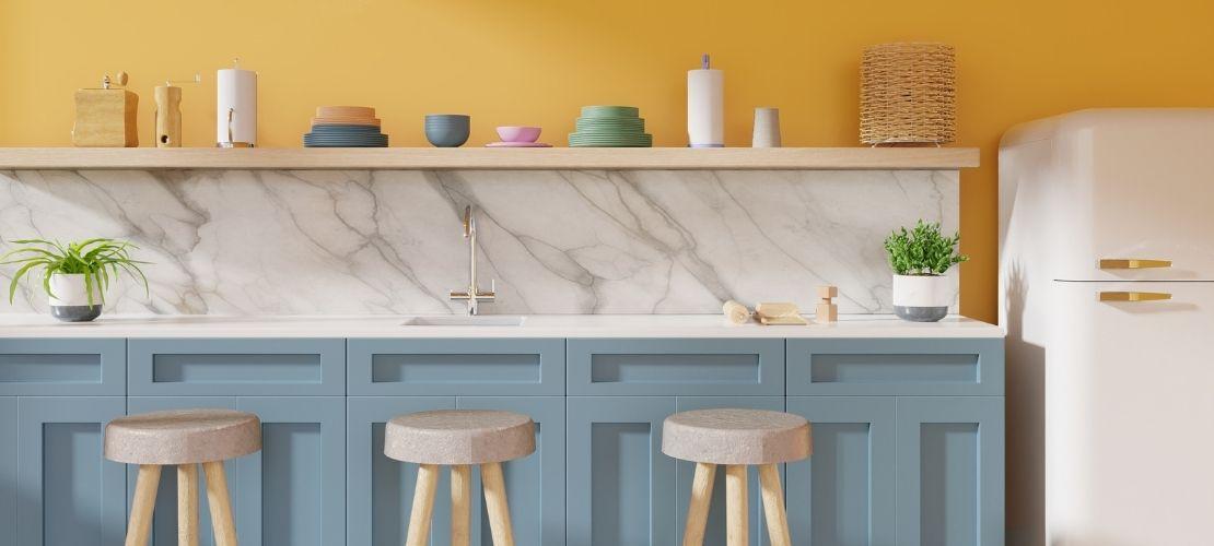 Meubles et peinture : quelle couleur pour une cuisine ?