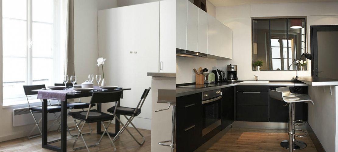 Rénovation d'un studio dans le 6e arrondissement de Paris