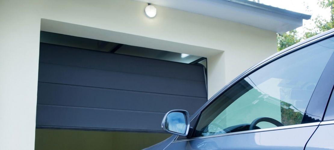 Achat et installation d'une porte de garage