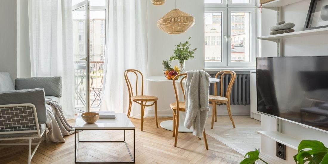 Le prix dépend de la surface de l'appartement